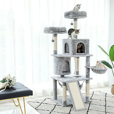 AU129.90 • Buy PAWZ Road Cat Tree Scratching Post Trees Scratcher Tower Condo House Furniture