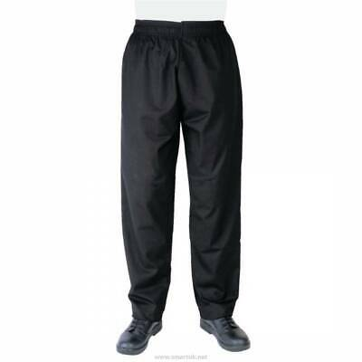 £7.50 • Buy Chefs Apparel A582-S Trousers, Polycotton, Size S, Black *NEW*