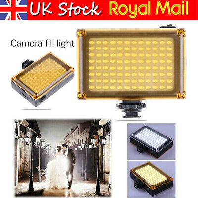 Bright 96 LED Studio Video Light For DSLR Camera Camcorder Photography Photo • 10.78£