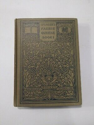 $17.99 • Buy Macmillan Pocket Classics Spenser's The Faerie Queene Book 1 1908 295 Pages Nice