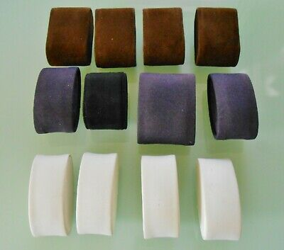 £9.95 • Buy 12 Watch Case Display Cushions / Pillows ~ Assorted Colours/Sizes