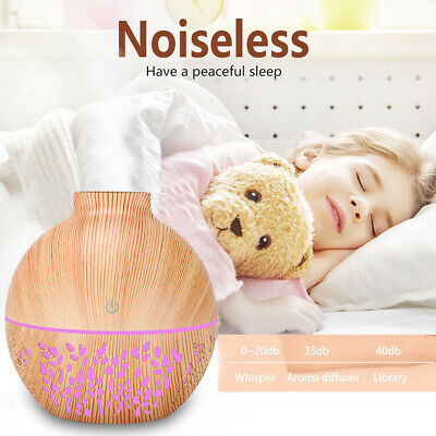 AU22.47 • Buy USB Air Aroma Essential Oil Diffuser LED Aroma Aromatherapy Humidifier Home 7Col