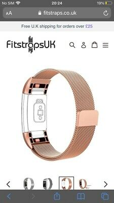 AU8.96 • Buy Metal Strap For Fitbit Charge 2 Sport Band