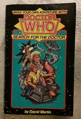 Make Your Own Adventure With Doctor Who Search For The Doctor Paperback  • 2.20£
