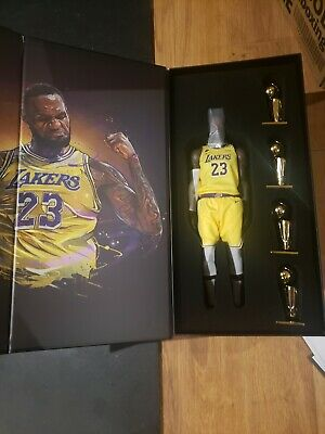 $390.83 • Buy Enterbay Nba Real Masterpiece Lebron James Lakers 1:6 Scale Figure New In Box
