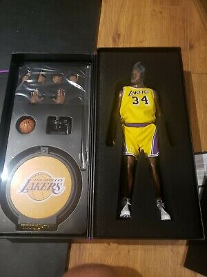 $390.83 • Buy ENTERBAY SHAQUILLE O'NEAL 1/6 ACTION FIGURE LAKERS EDITION New In Box