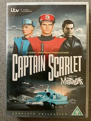 £12.50 • Buy Captain Scarlet The Complete Collection [DVD]