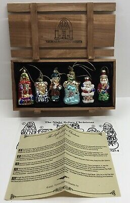 Thomas Pacconi The Night Before Christmas Tree Decorations Ornaments New & Boxed • 34.50£