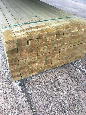 £153.60 • Buy 10 X 4.8m Lengths - 4 X 2  Timber - C16 Tanalised - Local Delivery Near CV9