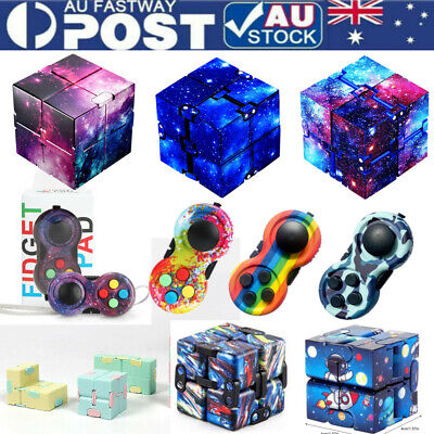 AU7.80 • Buy Infinity Cube Fidget Toys Magic Puzzle Sensory Autism Anxiety ADHD Stress Relief