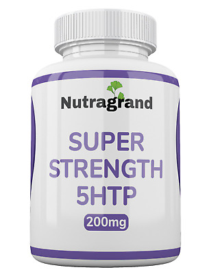 AU18.12 • Buy  5-htp  200mg Stress Anxiety Depression Sleep Support 6 Month To 1 Year Supply
