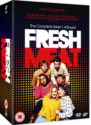 £21.99 • Buy Fresh Meat: The Complete Series 1-4 (2016) [15] DVD Box Set