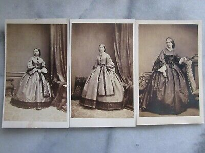 Cvc Cabinet Real Photographs. 1860's. Family Named Groups. Jersey. U.k. • 2.99£