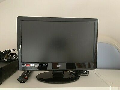 £45 • Buy Logik L19dvdb11 19  Lcd Tv & Built In Dvd Player & Remote - Collection Only!!