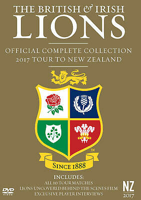 £19.99 • Buy British And Irish Lions: Official Complete Collection 2017... [E] DVD Box Set