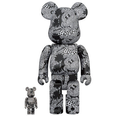 $300 • Buy < Sealed New > BE@RBRICK Keith Haring Mickey Mouse 100% & 400%