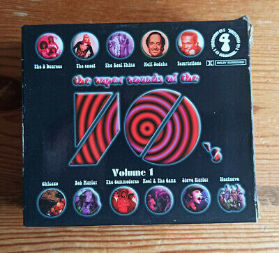 £10 • Buy The Super Sounds Of The 70's Seventies Vol 1 Volume One CD 4 Disc Box Set
