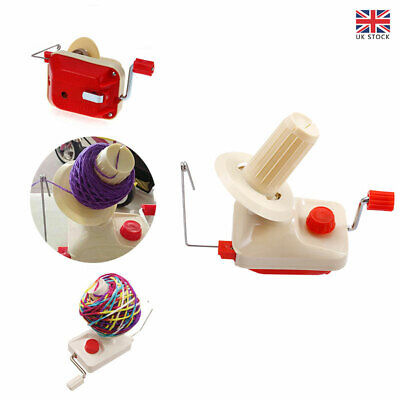 Swift Yarn Fiber String Ball Wool Winder Holder Hand Operated Winding Machine UK • 12.75£