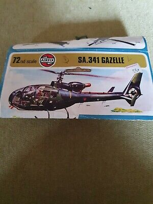 £1.50 • Buy AIRFIX 1973 1-72nd Scale SA.341 Gazelle Spares Incomplete See Pics