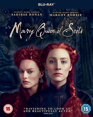 Mary Queen Of Scots (2018) [15] Blu-ray • 7.99£
