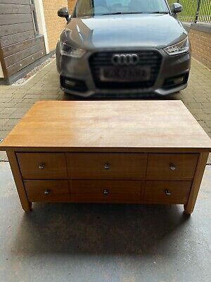 £95 • Buy Next Solid Oak Coffee Table - From The Hudson Range. Beautiful.