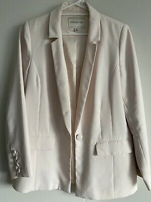 AU8 • Buy Forever New Blazer 14 Light / Pastel Pink Used Good Condition