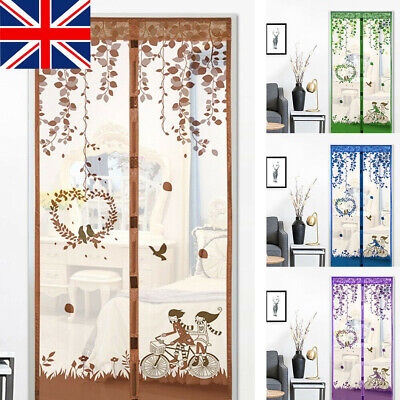 £7.99 • Buy Magic Door Mesh Magnetic Fastening Mosquito Fly Bug Insect Net Screen CurtainNet
