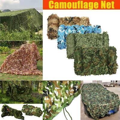 4m*6m Camo Net Hunting/Shooting Camouflage Hide Army Camping Woodland Netting UK • 6.99£