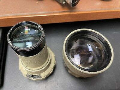 $199.99 • Buy RARE Lewyt Mfg. Lens Parts From Military Scope, F2 3.5 Objective