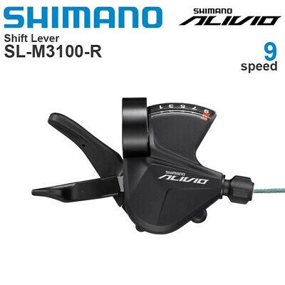 AU49.83 • Buy SHIMANO ALIVIO SL-M3100 9 Speed MTB Bike Right Shifter Lever Bicycle Shifters
