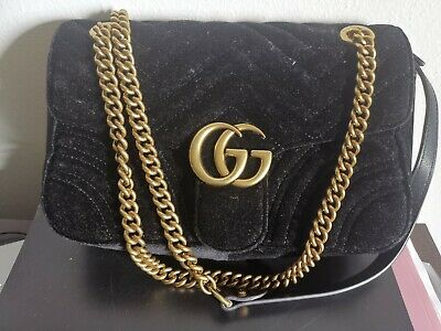 AU1200 • Buy Preloved Gucci Marmont Velvet Bag