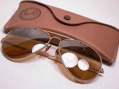 AU45.06 • Buy Vintage Ray Ban Classic Gold Aviator The General Sunglasses Shades Frames USA