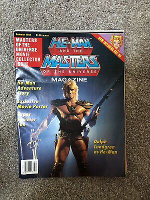 $20 • Buy Vintage He-Man And The Masters Of The Universe Magazine Summer 1987 Vol 3 No 3