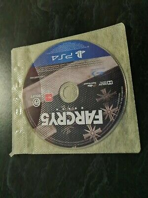 AU8 • Buy Playstation 4 Ps4 Video Game No Case Far Cry 5 Farcry