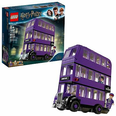 $ CDN26.59 • Buy LEGO Harry Potter The Knight Bus 75957 Triple Decker Toy Bus (403 Pieces)
