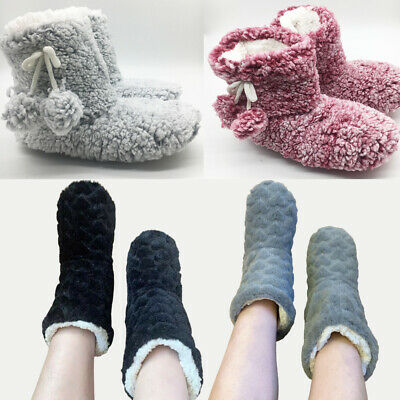 £7.80 • Buy Ladies Slippers Women Girls Winter Warm Fur Luxury Ankle Boots Bootie Shoes Size