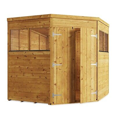 £800 • Buy BillyOh 7x7 Tongue & Groove Expert Corner Pent Wooden Workshop Tool Store Shed