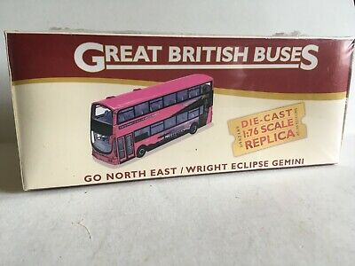 £49.99 • Buy Atlas Editions Wright Eclipse Gemini Go-North East 1/76 Scale Boxed Free Post