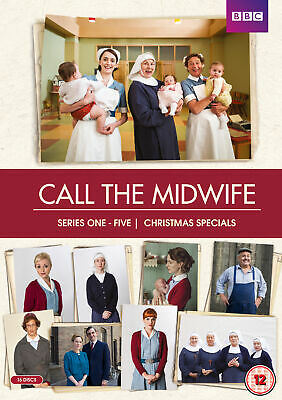 £34.99 • Buy Call The Midwife: Series 1-5 (2016) [12] DVD Box Set