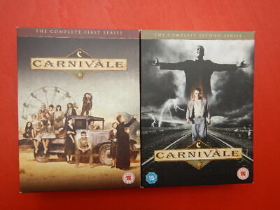 Carnivale: Complete: Series 1 & 2. 12 Discs. 2004-6.dvd • 15.99£