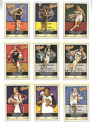 $ CDN48.51 • Buy 2002 Authentix Wnba Base Set Of 100,second Year Cards Of Jackson,stiles,loaded