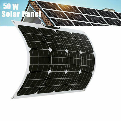 £89.99 • Buy 100W Foldable Solar Panel Kit 10A Controller 12V Battery Charger Power Camping