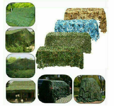 4m*6m Camo Net Hunting/Shooting Camouflage Hide Army Camping Woodland Netting ! • 17.99£