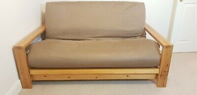 £425 • Buy Futon Sofa Bed By The Natural Bed Company. 2-seater Sofa Converts To Double Bed