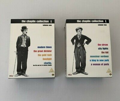 £19.99 • Buy The Charlie Chaplin Collection Volumes 1 And 2