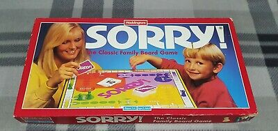 £12.97 • Buy Vintage Sorry! Waddingtons Board Game 1994 Checked And Complete