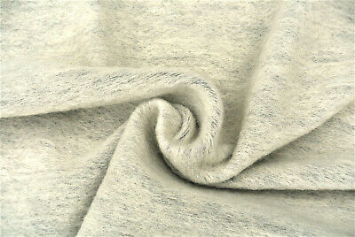 £7.50 • Buy Smokey White Boiled Wool-cashmere Blend Luxury Rustic Knit Made In Italy B80