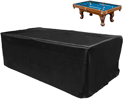 AU58.88 • Buy GEMITTO Billiard Pool Table Cover, Heavy Duty 7/8/9 Ft Snooker Pool Table Dust