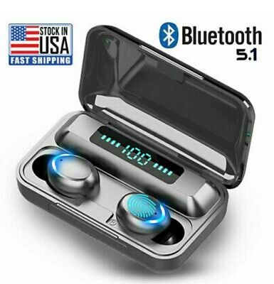 $ CDN23.05 • Buy Bluetooth Earbuds For Iphone Samsung Android Wireless Earphone IPX7 Waterproof