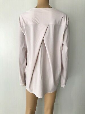 $ CDN59.44 • Buy LULULEMON Solo Blouse Women's Long Sleeve Size 12 Light Pink NEW W/Tags $118